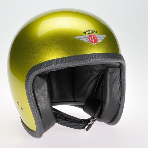 COSMIC CANDY YELLOW DAVIDA NINETY TWO HELMET - Speedwear Ltd