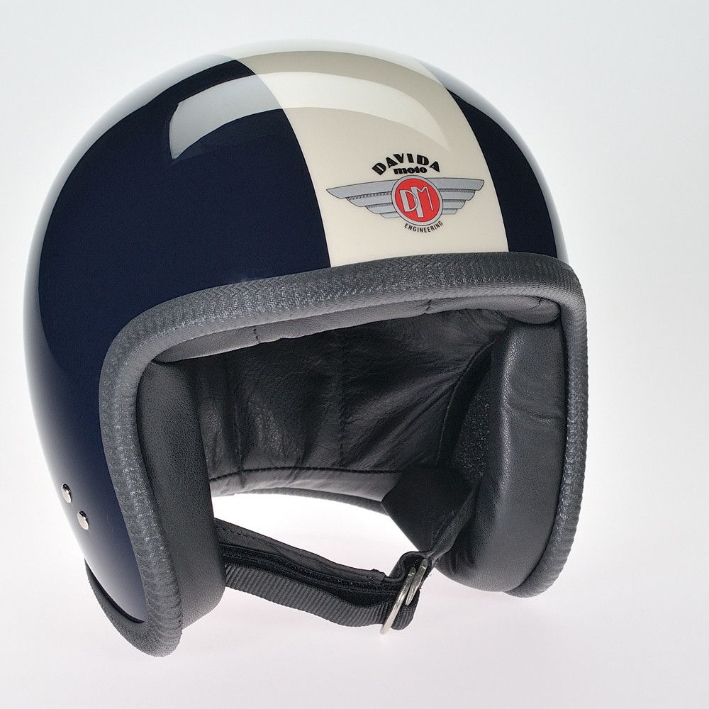 NAVY CREAM DAVIDA NINETY TWO HELMET - Speedwear Ltd