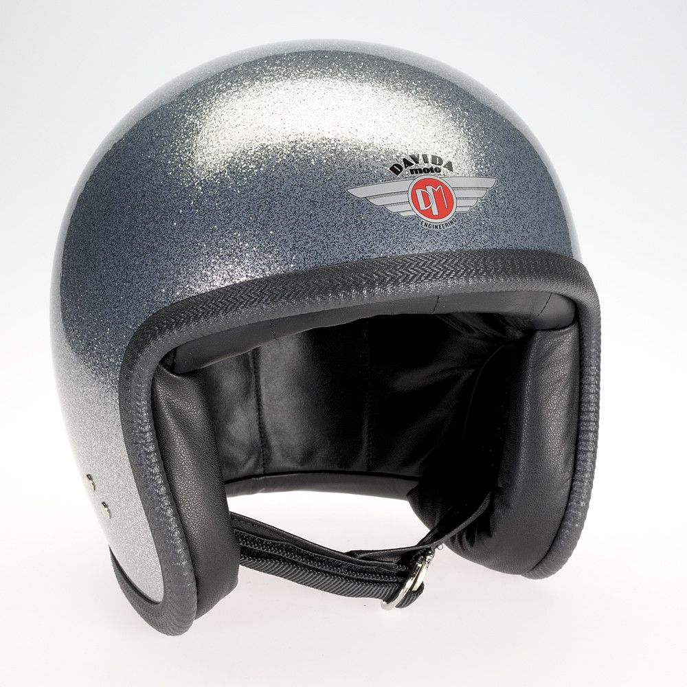 COSMIC FLAKE SILVER DAVIDA NINETY TWO HELMET - Speedwear Ltd