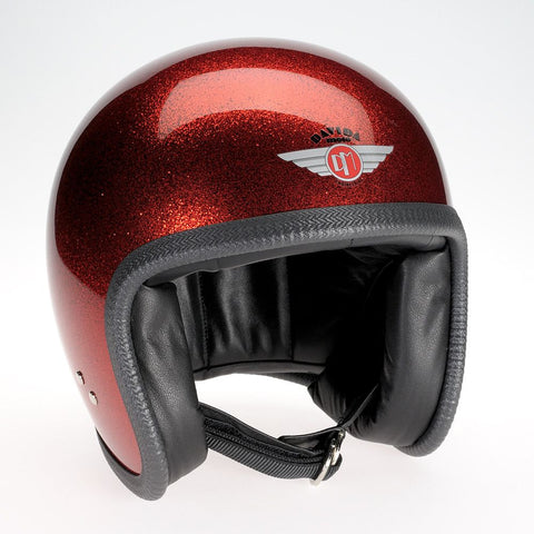 COSMIC FLAKE RED DAVIDA NINETY TWO HELMET - Speedwear Ltd