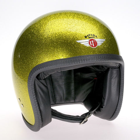 COSMIC FLAKE YELLOW DAVIDA NINETY TWO HELMET - Speedwear Ltd