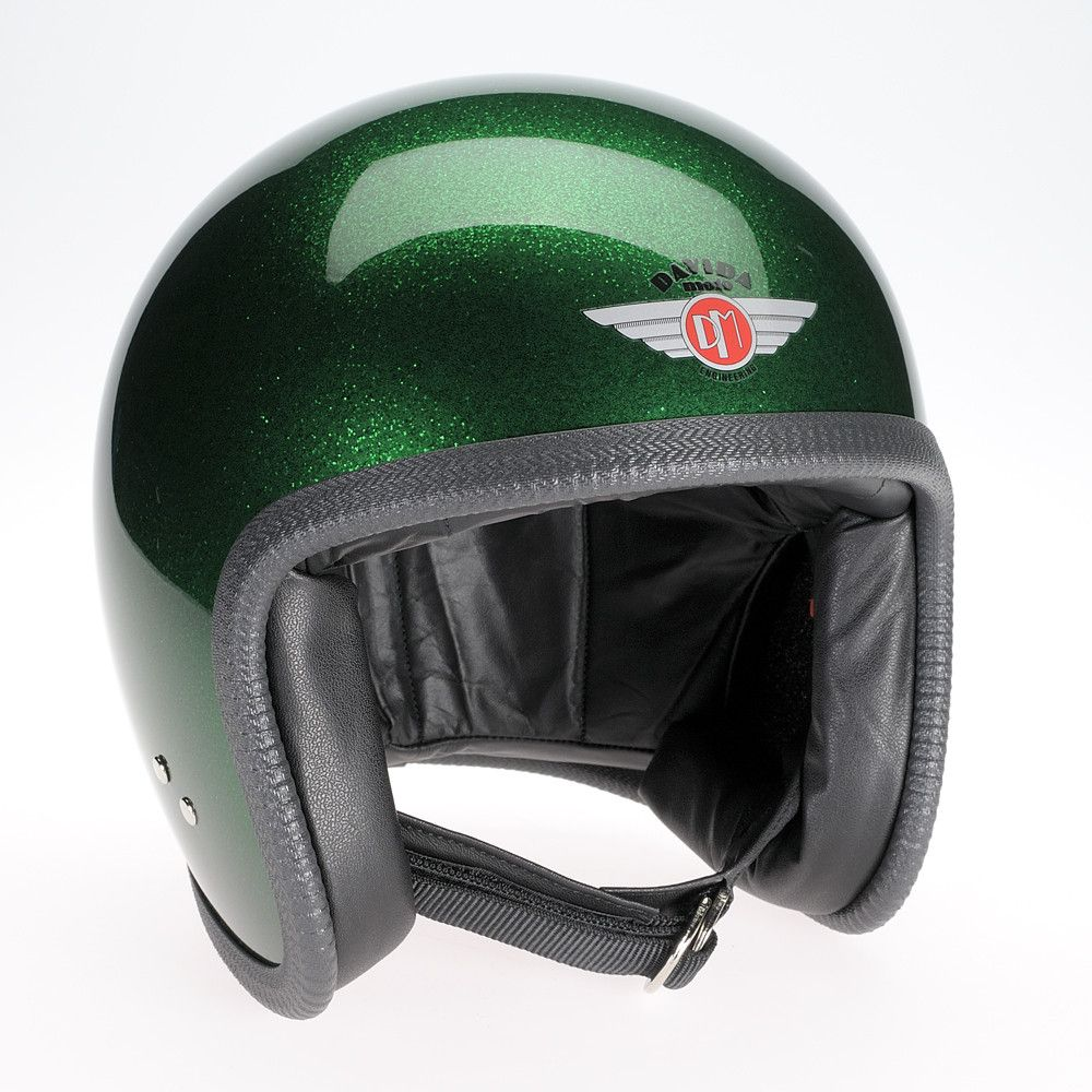COSMIC FLAKE GREEN DAVIDA NINETY TWO HELMET - Speedwear Ltd