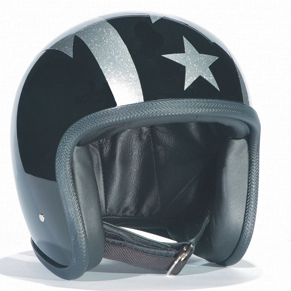 BLACK, SILVER,THUNDERBOLT DAVIDA NINETY TWO HELMET - Speedwear Ltd