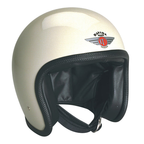 93113 - Cream Davida Speedsterv3 Helmet - Speedwear Ltd