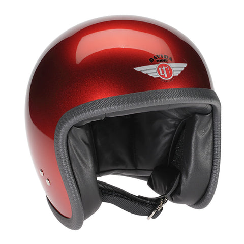 93151 - Cosmic Candy Red Davida Speedsterv3 Helmet - Speedwear Ltd