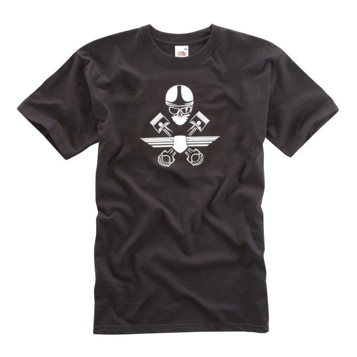 CROSSED PISTON T-SHIRT - Speedwear Ltd