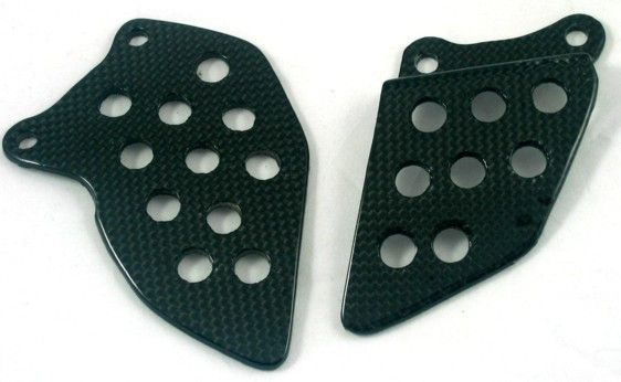 CARBON HEEL PLATES FOR HONDA CBR600RR - Speedwear Ltd