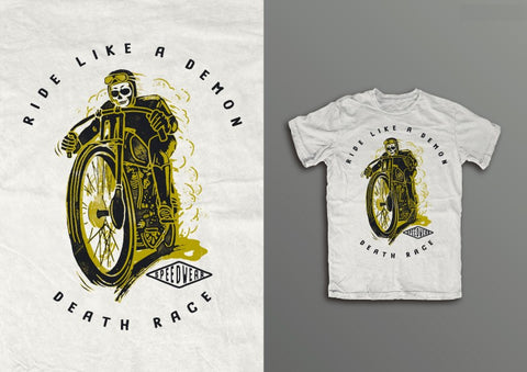 Ghost racer T-SHIRT