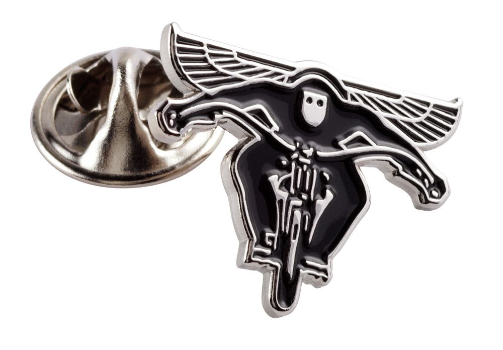 FLYING BIKER PIN BADGE - Speedwear Ltd
