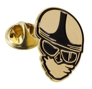 CLASSIC HEAD PIN BADGE - Speedwear Ltd