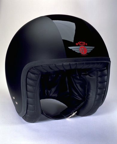 DAVIDA JET TT MATT/GLOSS BLACK - Speedwear Ltd