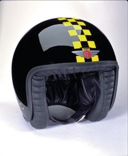 DAVIDA JET TT BLACK/YELLOW CHECK - Speedwear Ltd