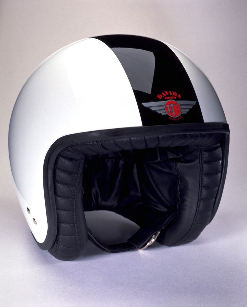 DAVIDA JET TT WHITE/BLACK - Speedwear Ltd