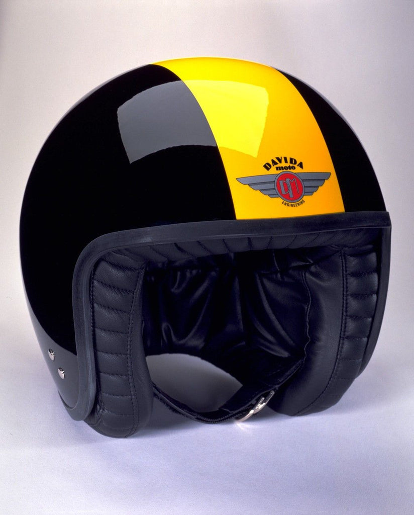 DAVIDA JET TT BLACK/YELLOW - Speedwear Ltd