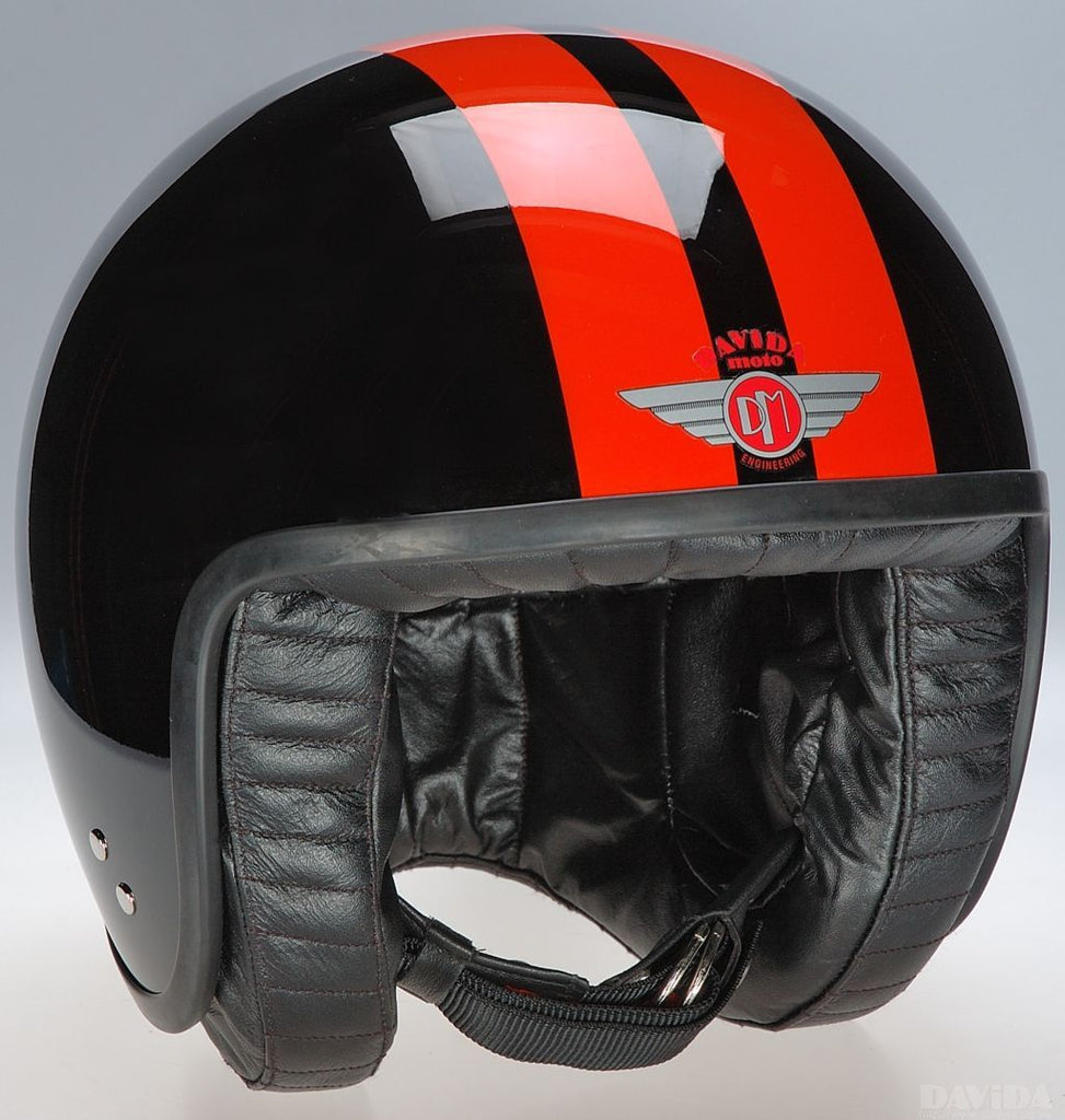 JET TT BLACK 2P ORANGE STRIPE - Speedwear Ltd