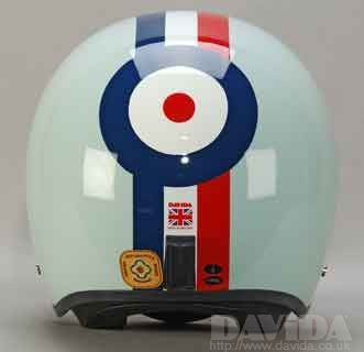 DAVIDA JET EGGSHELL BLUE RED,WHITE,BLUE TARGET - Speedwear Ltd