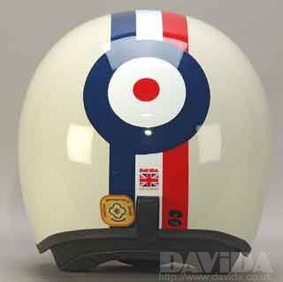DAVIDA JET RED,WHITE,BLUE STRIPE TARGET - Speedwear Ltd