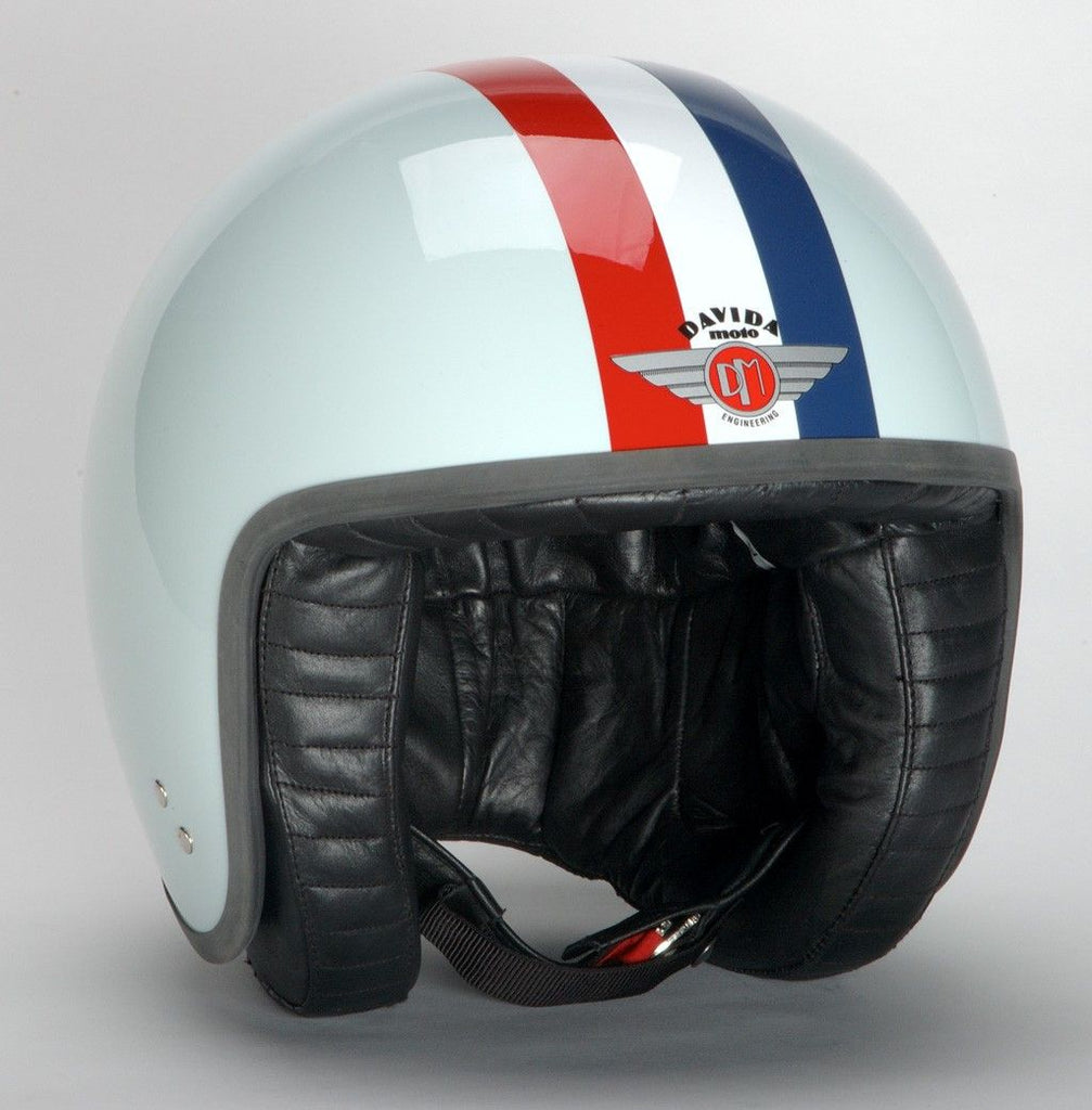 DAVIDA JET TT EGGSHELL BLUE RED/WHITE/BLUE STRIPE - Speedwear Ltd