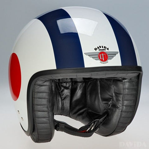 DAVIDA JET RED/WHITE/BLUE TARGETS SIDE - Speedwear Ltd