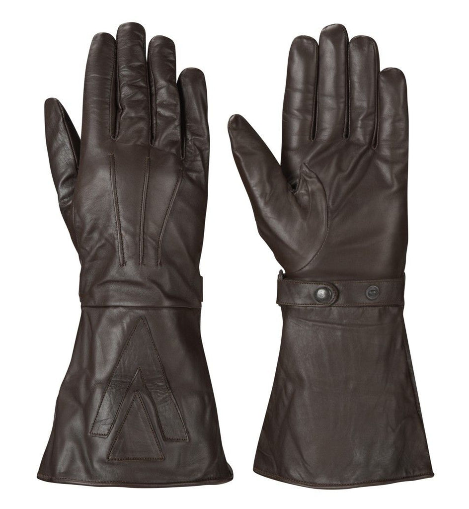 BROWN GAUNTLET GLOVE - Speedwear Ltd