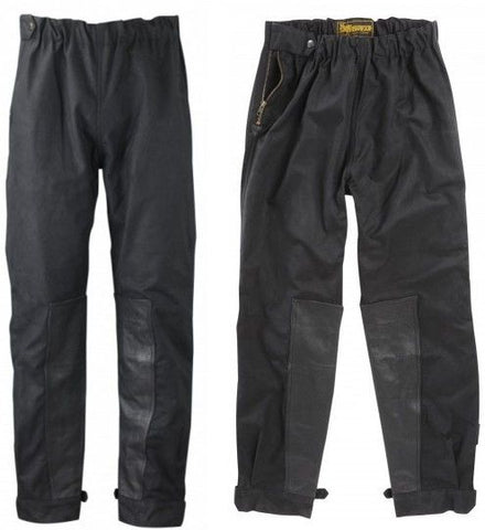 Waxed Cotton Motorcycle Trousers Online At 163 70 00