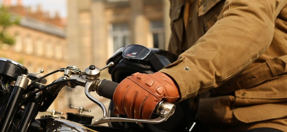 Wax Cotton Motorcycle Jacket