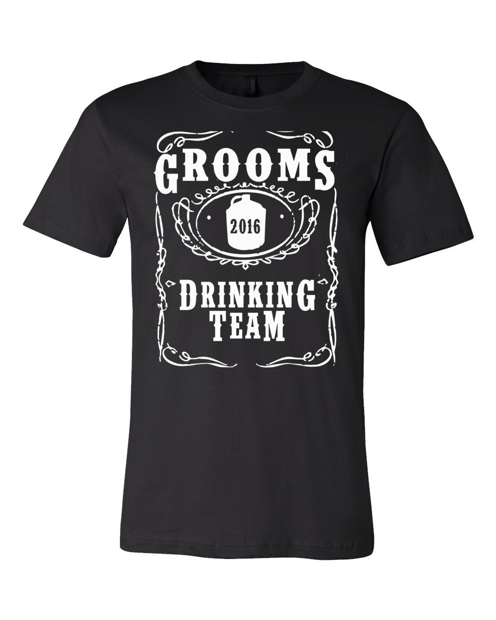 GROOMS DRINKING Team - T Shirt Available in X Small - XXXX Large