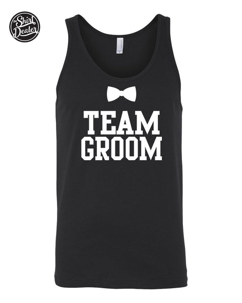 Groom & Team Groom Tank Top - Bachelor Party Tank Top Available in  X Small - XX Large