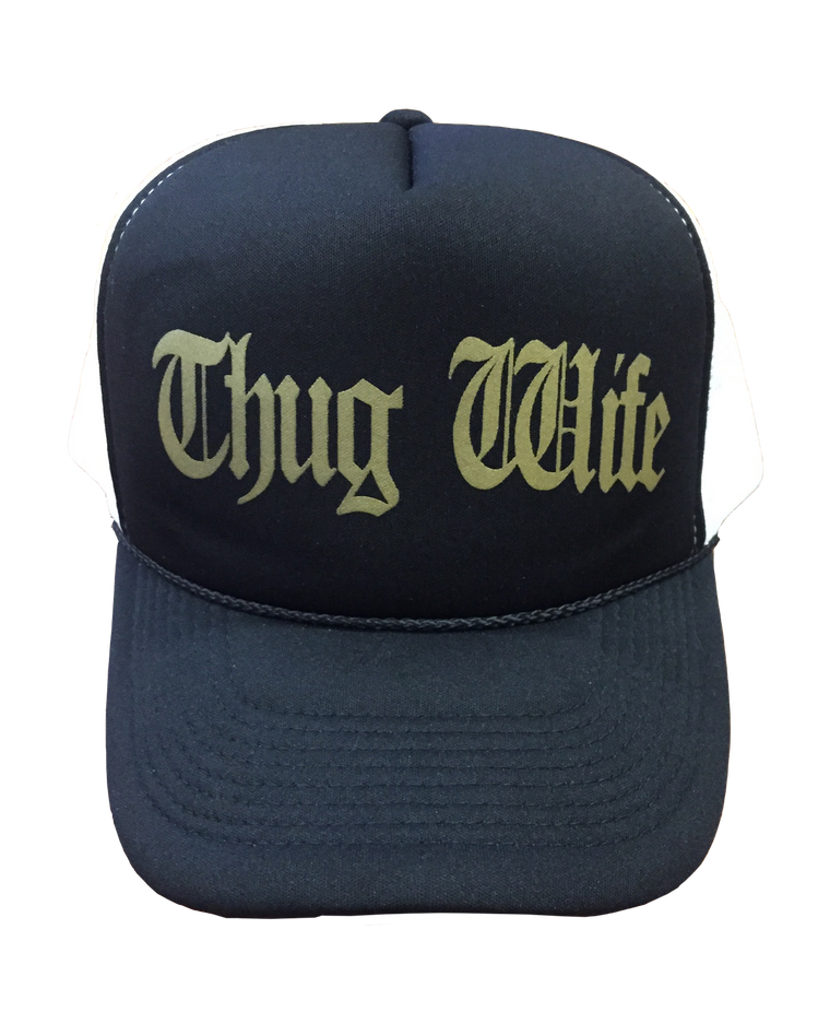 Thug Wife - Foam Trucker Cap