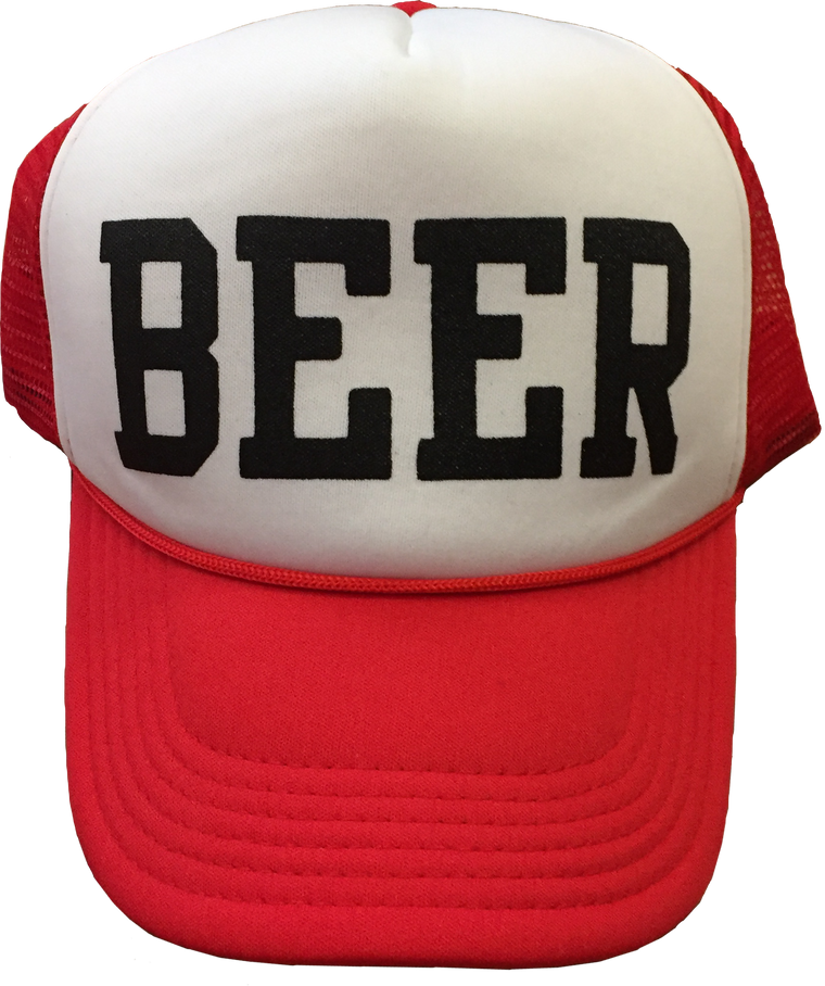 BEER - Foam Trucker Cap