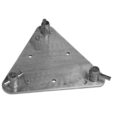 "Base Plates - 12"" X 12"" Triangle Truss Base Plate"