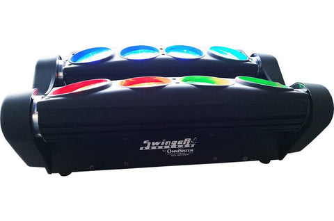 Effect Lights - Swinger X2™ 8 X 10W Swinging LED Bar