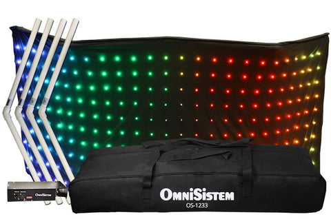 LED Curtains - OS-1235 DJ Facade