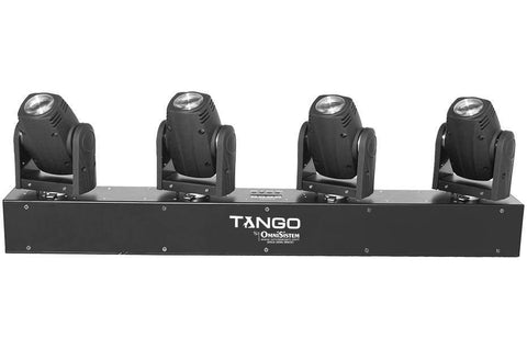 Moving Heads - Tango™ 4 X 10W LED Moving Head Bar