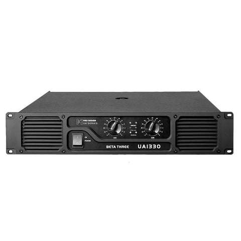 Power Amplifiers - Beta 3® UA1330 2U 2 X 660W Power Amplifier