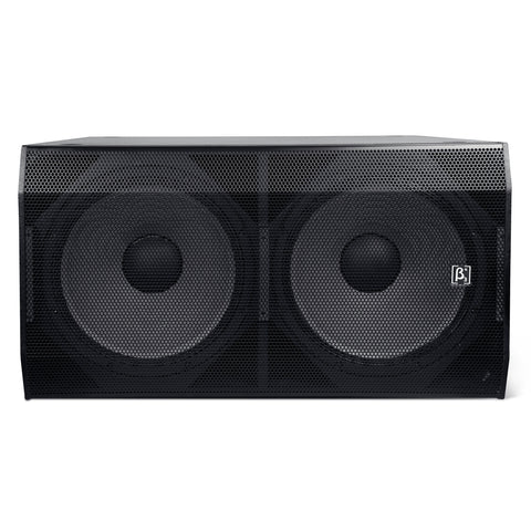 "Powered Subwoofers - Beta 3® TW218Ba 4500W 2 X 18"" Powered Subwoofer"