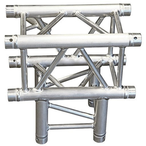 Truss Segments & Corners - 3-Way 2-Axis Square Truss Corner