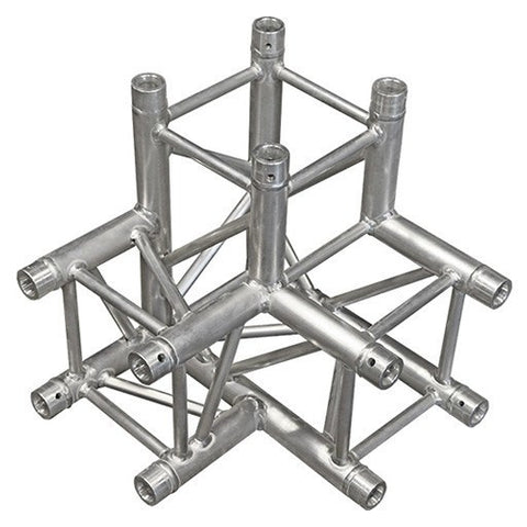 Truss Segments & Corners - 3-Way 3-Axis Square Truss Corner