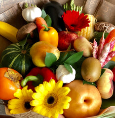 Fruit And Vegetables Hand Bouquet