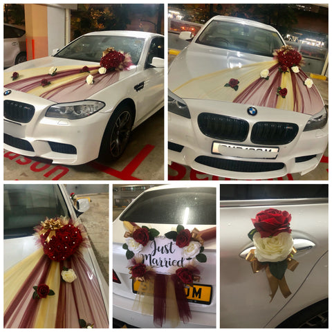 Bridal Car Decor WD530