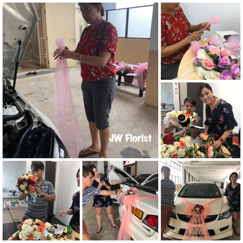 Bridal Car Decoration Course
