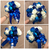 Cheap Bridal Bouquet Singapore | Wedding hand Bouquet | Florist Sg