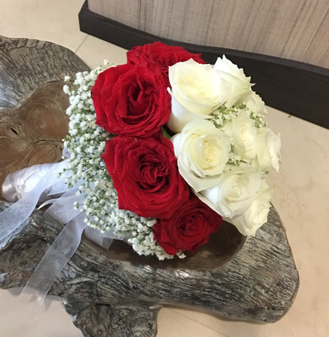 Bridal Bouquet Singapore | Wedding hand Bouquet | Florist Sg