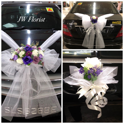 Bridal car decor
