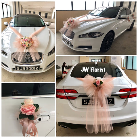 Bridal Car Decor Singapore