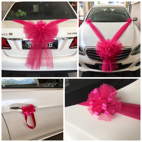 Bridal Car Decoration | Wedding Car Decoration Packages Singapore