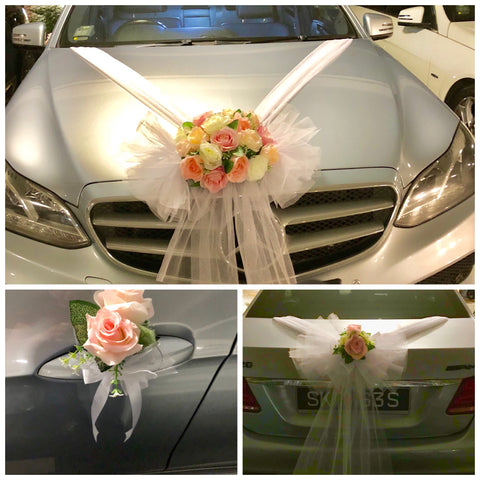 Bridal Car Deco WD501