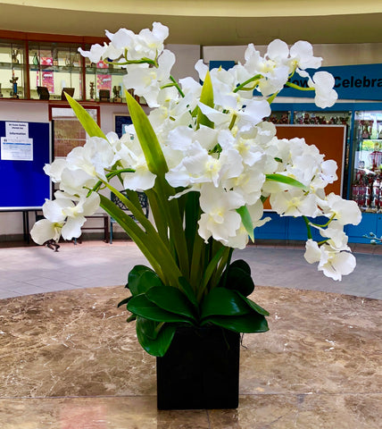 Artificial Vanda Orchid| Artificial centrepieces