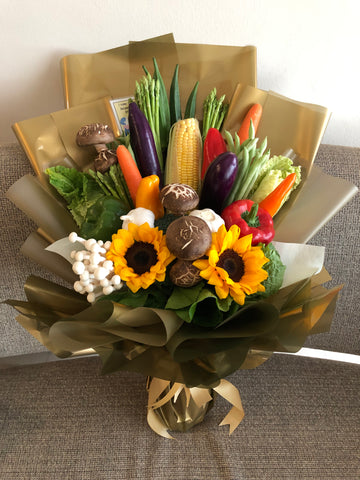 Vegetables Hand bouquet