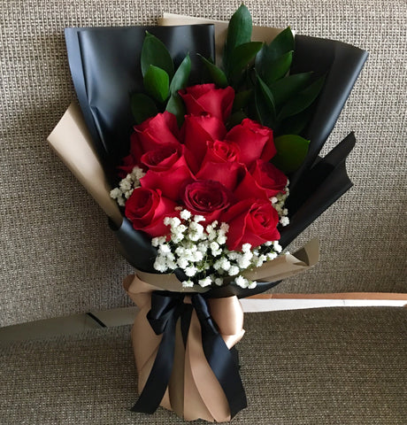 Roses Hand Bouquet HB642